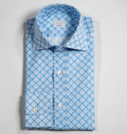 CALIBAN Printed Button Up