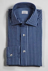 CALIBAN Striped Button Up