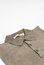 MAURIZIO BALDASSARI Knitted Linen Polo