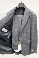 Canali Wool Plaid Suit