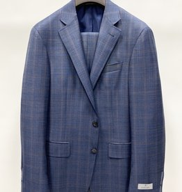 Canali Windowpane Suit
