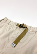 White Sand Belted Shorts