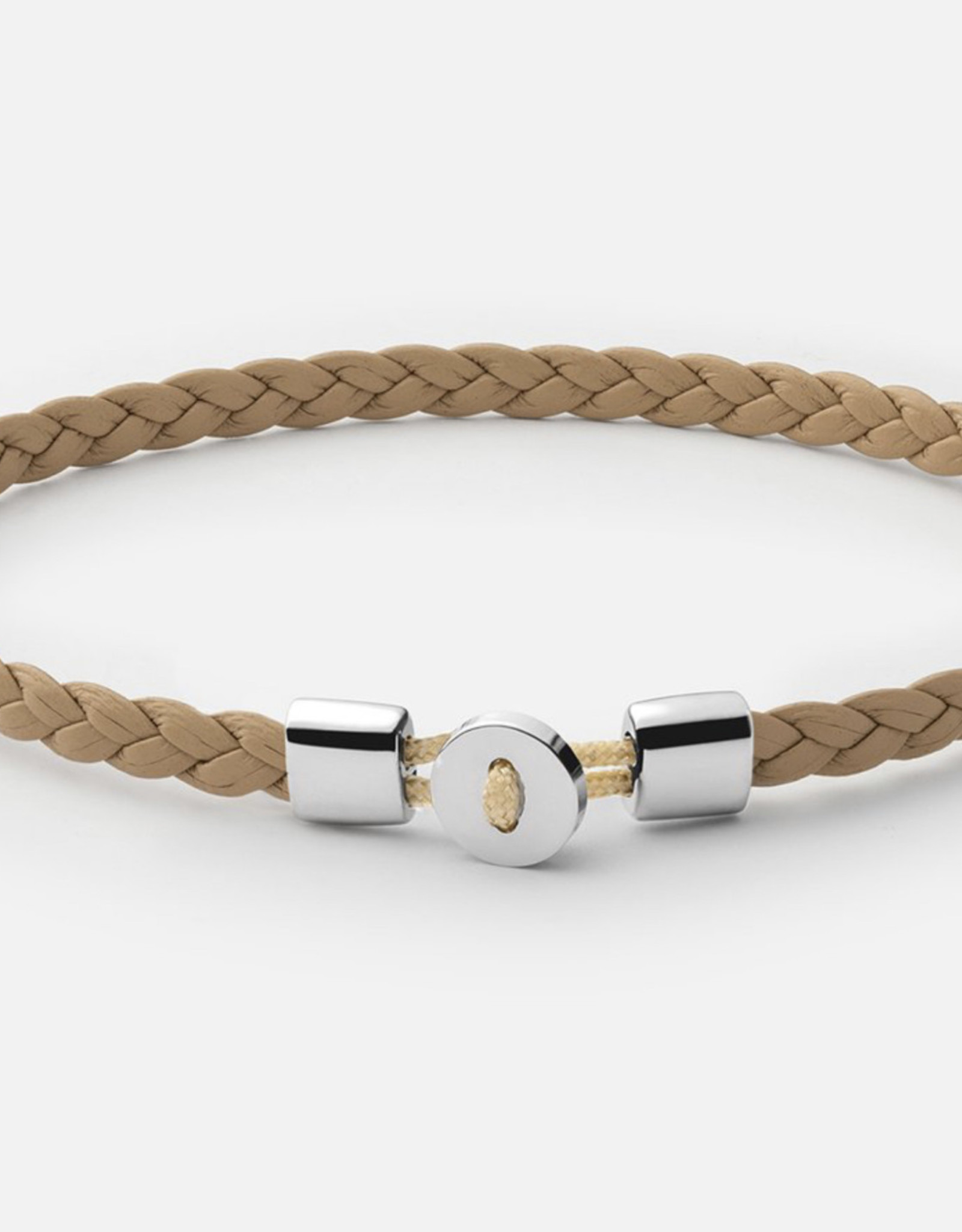Miansai Nexus Leather Bracelet Sterling