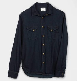Billy Reid Double Dye Denim Shirt 102-1085