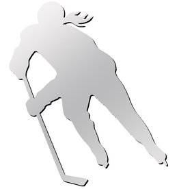 A&R A&R Hockey Female Player Magnet