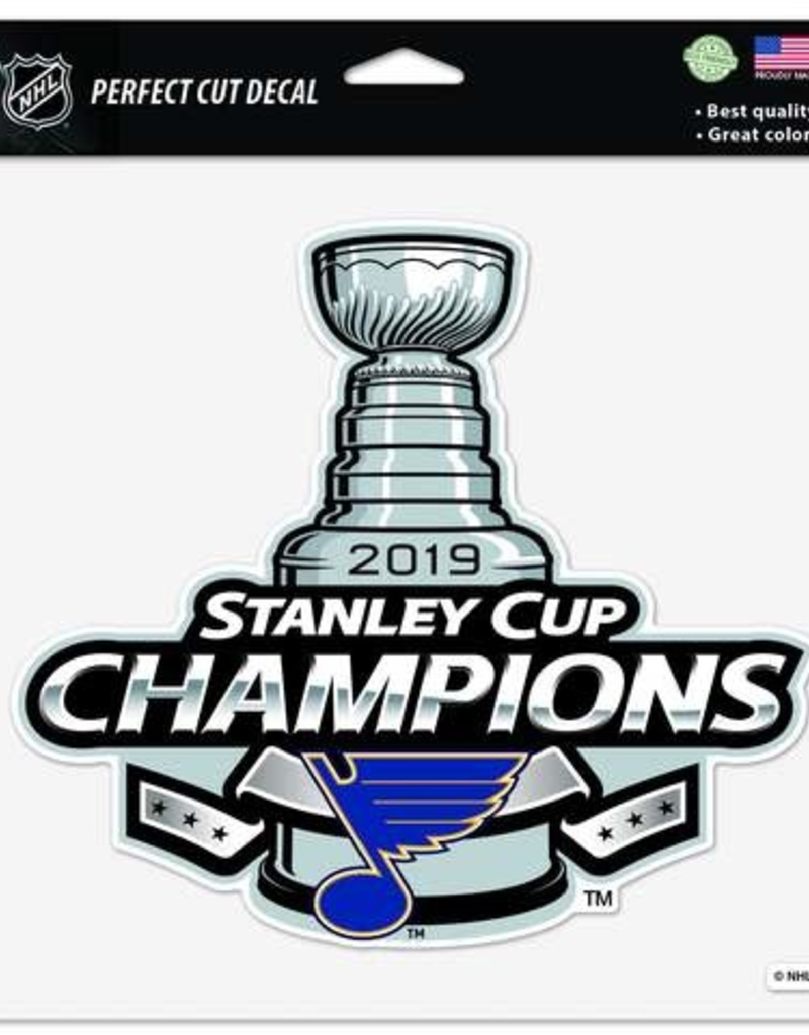 Wincraft Wincraft Blues Champs Perfect Cut Decal (8 x 8)