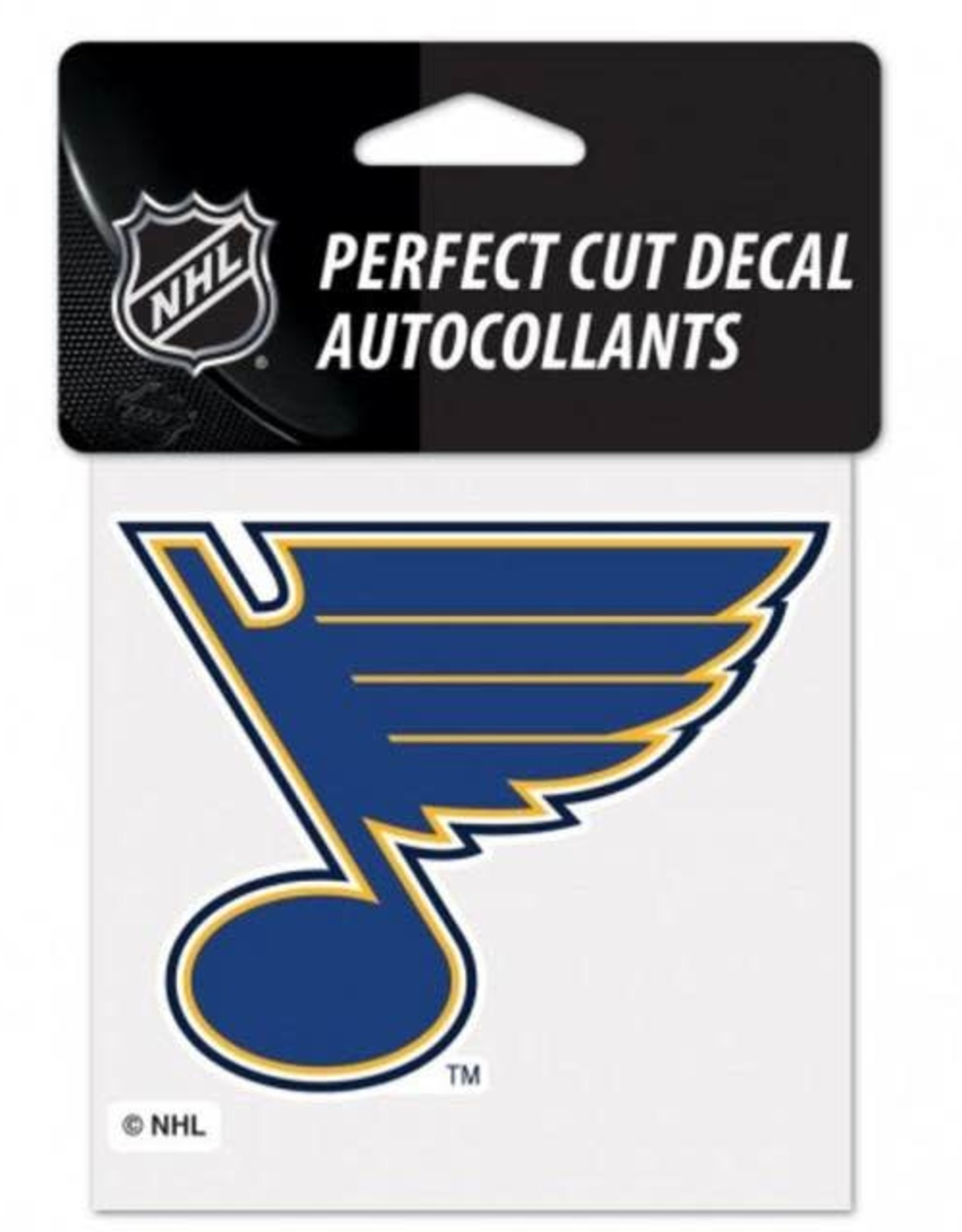 Wincraft Wincraft Blues Perfect Cut Decal