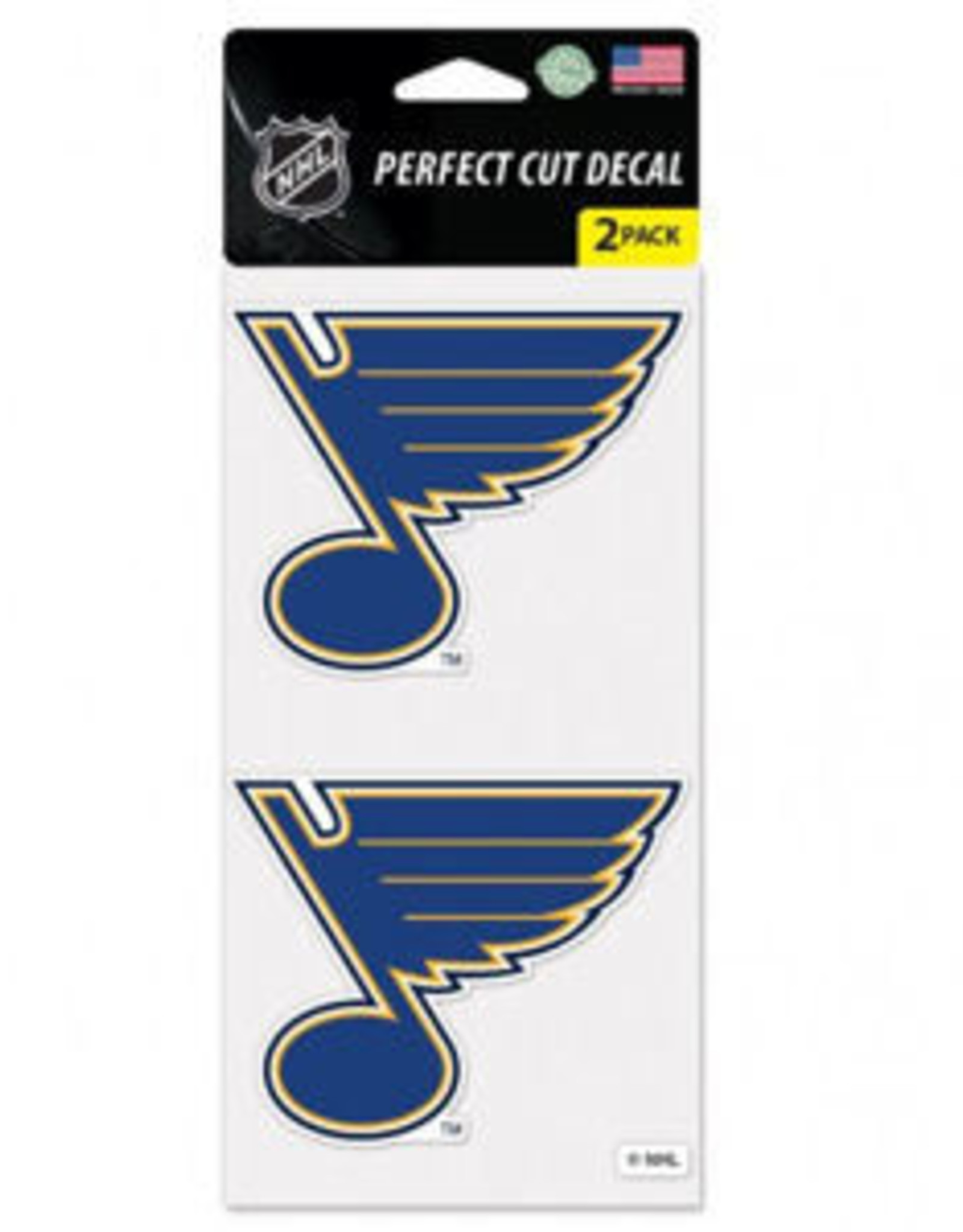 Wincraft Wincraft Blues Perfect Cut Decal (2 Pack)