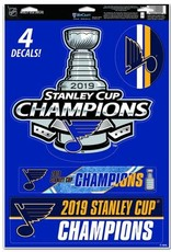 Wincraft Wincraft Blues Stanley Cup Champs Decals