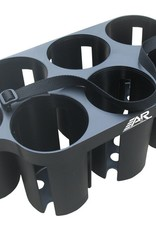 A&R A&R Plastic Water Bottle Carrier- Black