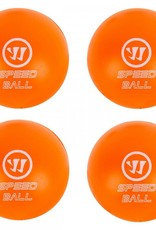 Warrior Warrior Mini Hockey Speed Balls (4 Pack)