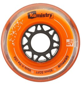 Tour Kemistry Orange Grippium Hockey Wheels