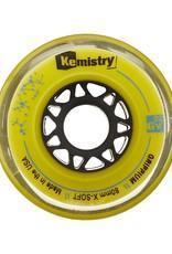 Tour Kemistry Yellow Grippium Hockey Wheels