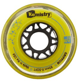 Tour Kemistry Yellow Grippium Hockey Wheels