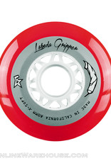 Labeda Labeda White Gripper Wheels Red 80mm