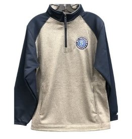 TGP Services STP Uni-Sex 1/4 Zip (Grey/Navy)