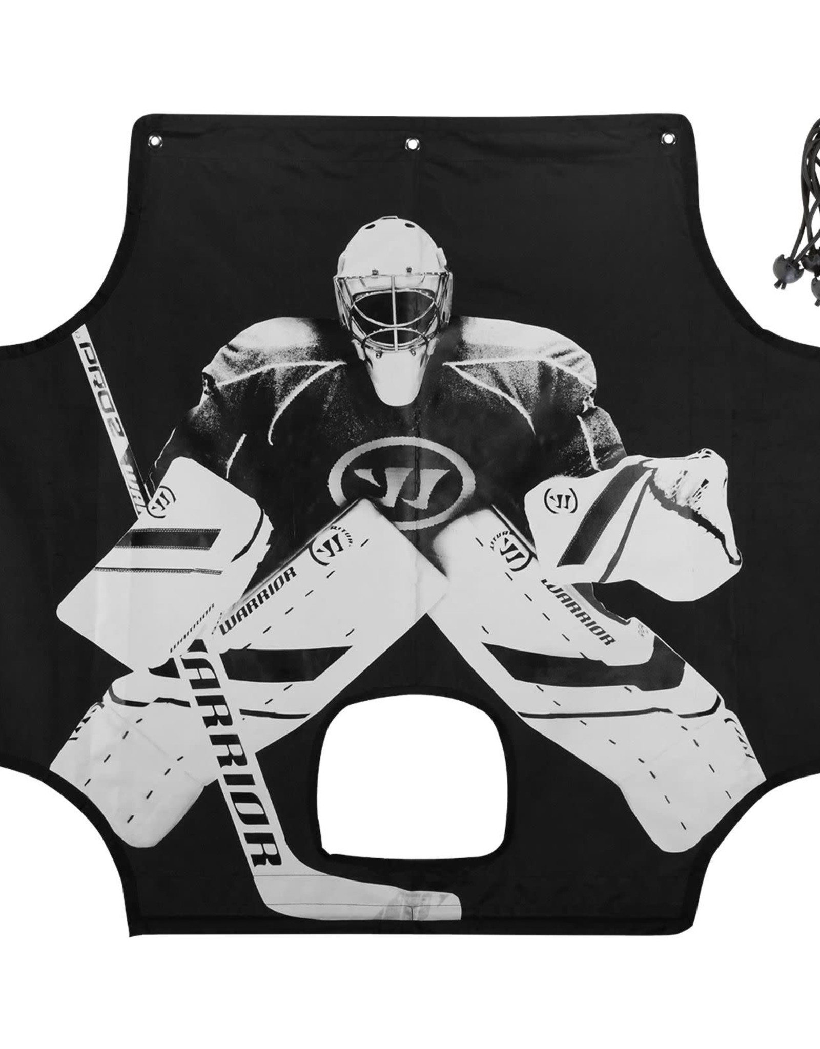 "Warrior Warrior Hockey Shooter Tutors (72""x48"")"