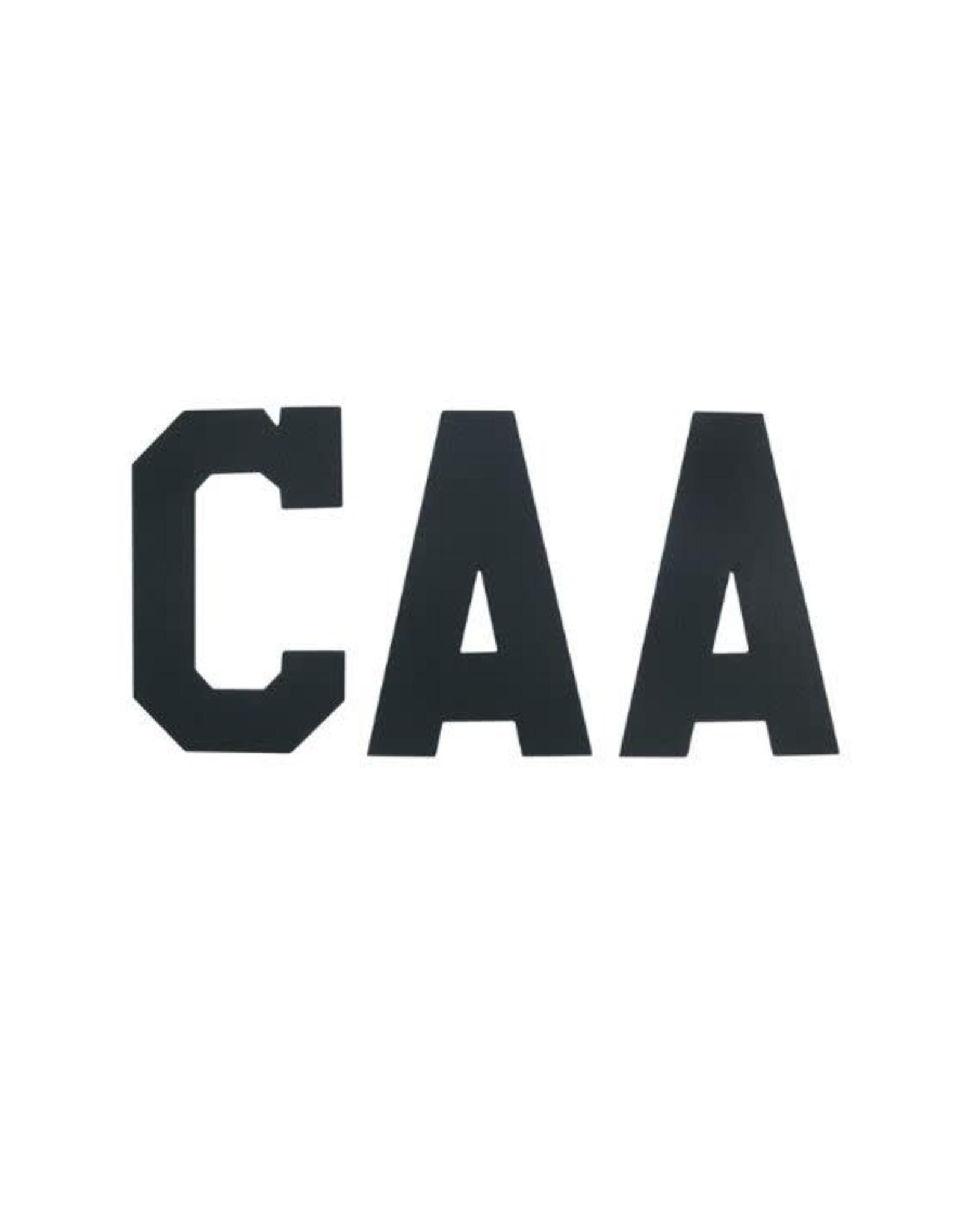 A&R A&R Captain Letters (BLACK)