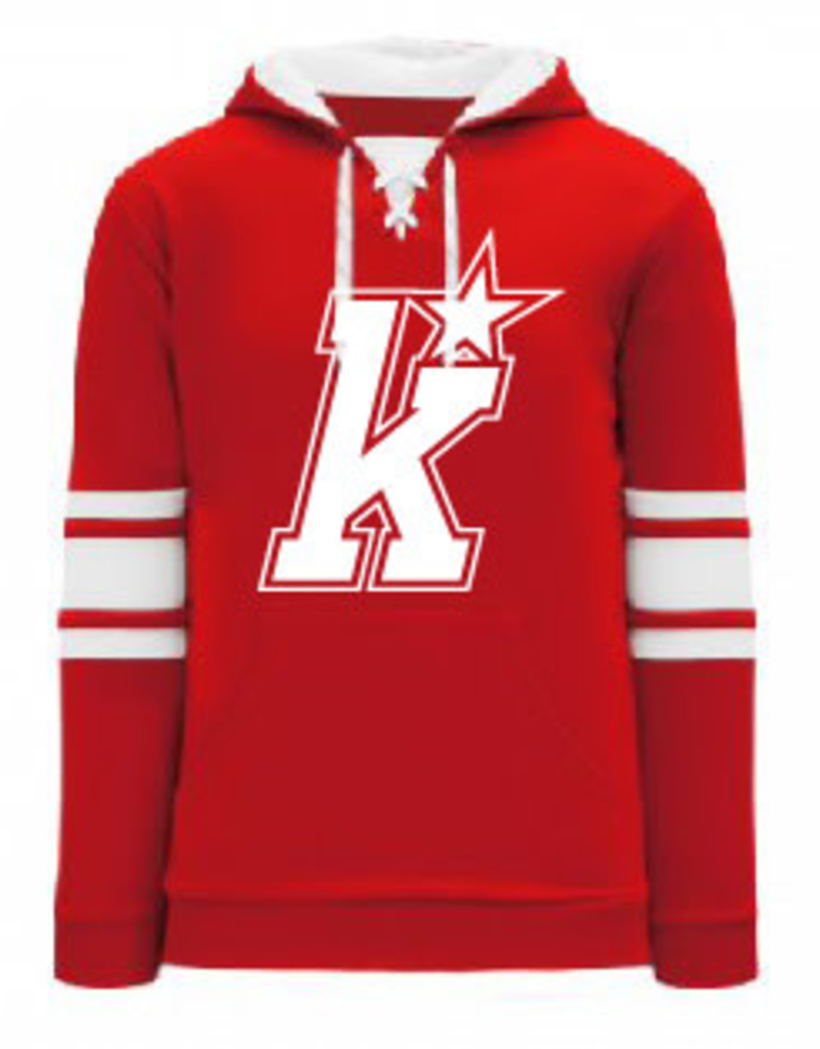 AK Kirkwood Jersey Lace Up Hoody (ADULT)