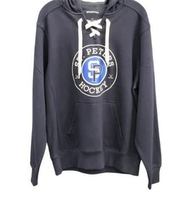 TGP Services STP Sport Tek Navy Lace Up  Hoody