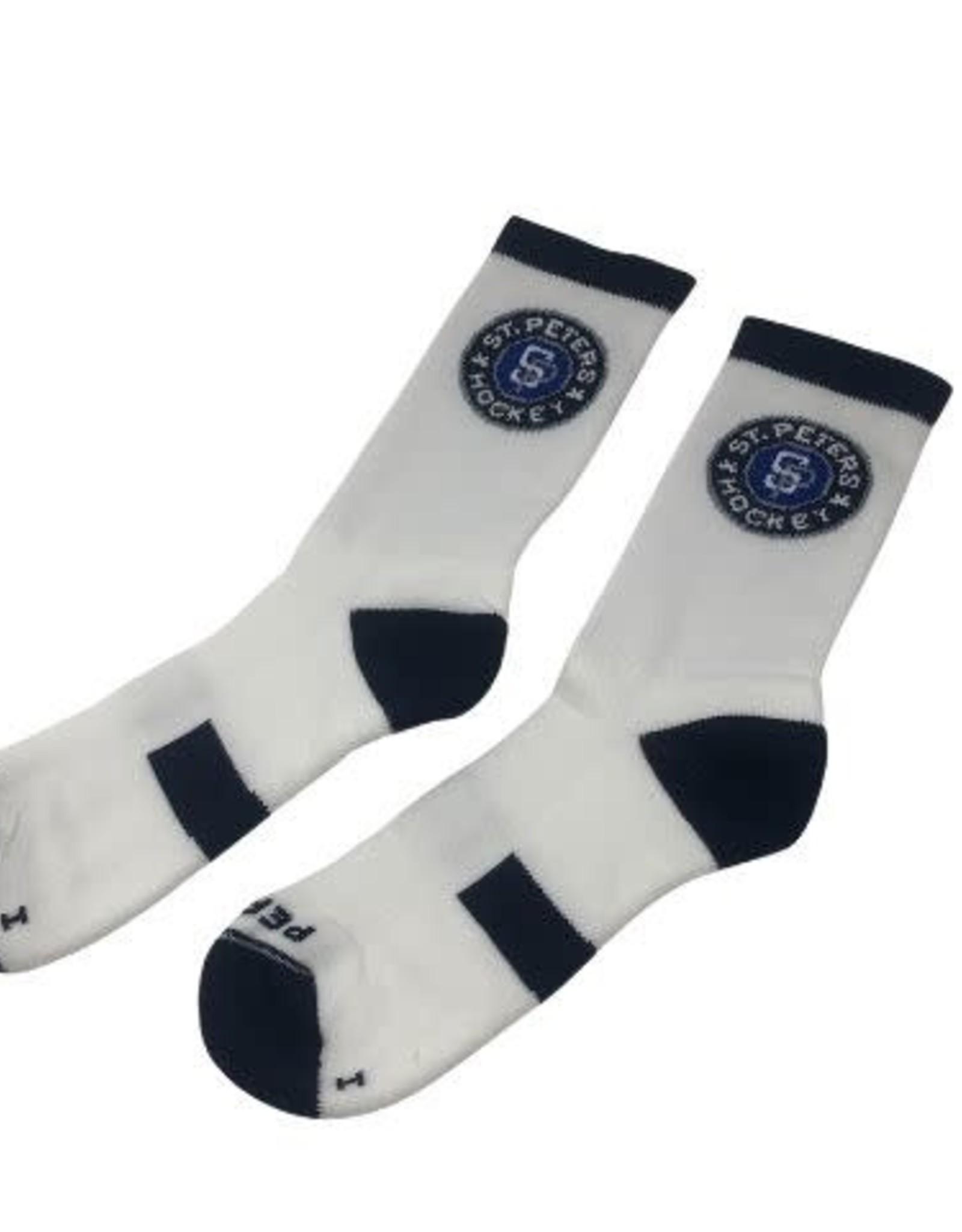 Pear Sox STP Skate Sock (ADULT) White