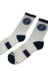Pear Sox STP Skate Sock (Intermediate) White