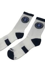 Pear Sox STP Skate Sock (YOUTH) White