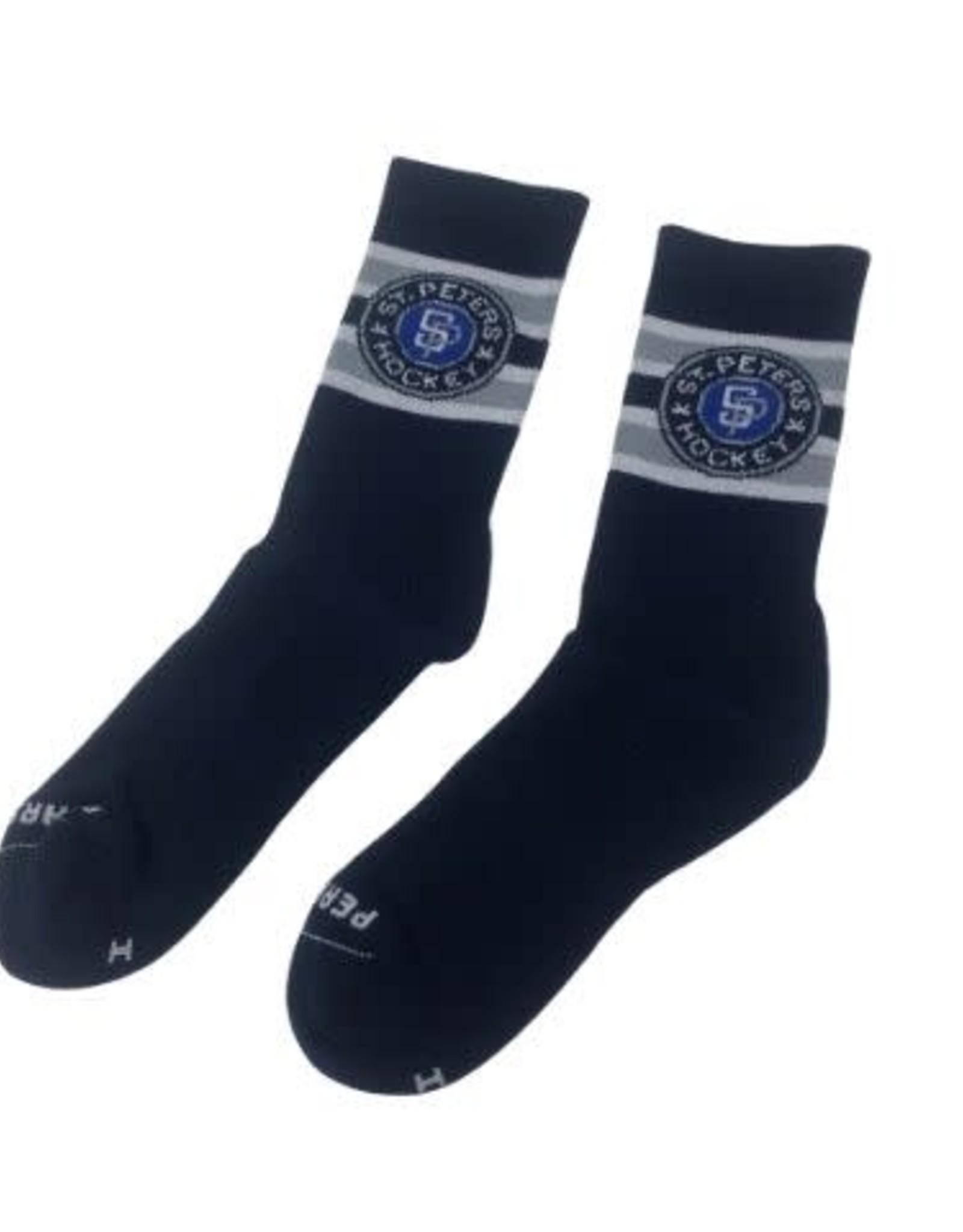 Pear Sox STP Skate Sock (ADULT) Navy