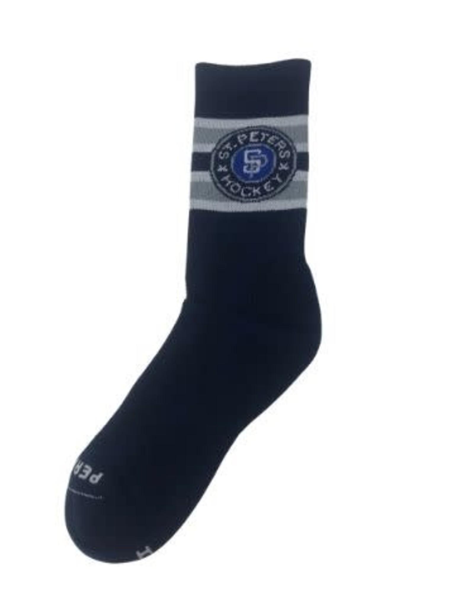 Pear Sox STP Skate Sock (Intermediate) Navy