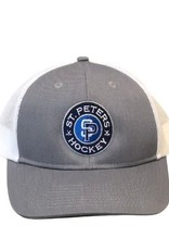 TGP Services STP Port Authority Trucker (ONE SIZE) Grey Front Logo