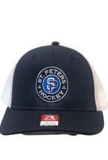 Richardson STP Richardson Flexfit Grey/Navy Hat (LG/XL)
