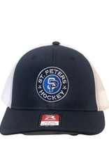 Richardson STP Richardson Flexfit Grey/Navy Hat (SM/MD)