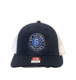 Richardson STP Richardson Flexfit Grey/Navy Hat (SM/MD)
