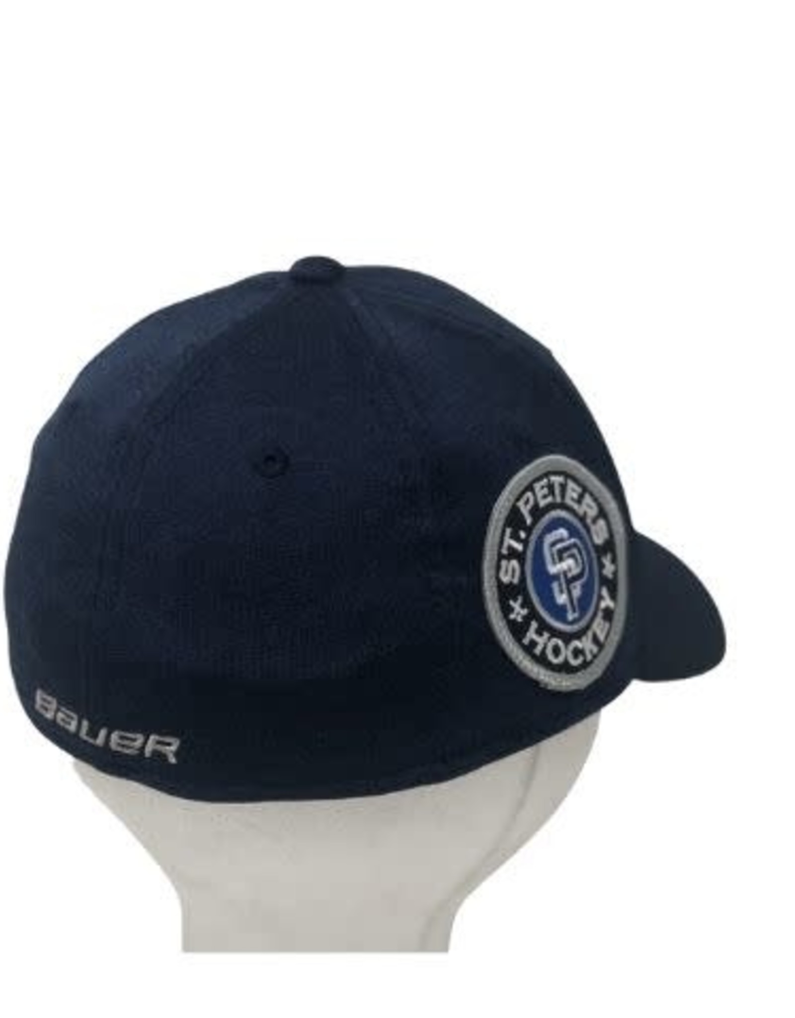 TGP Services STP Bauer 3930 Hat (MD/LG) Navy