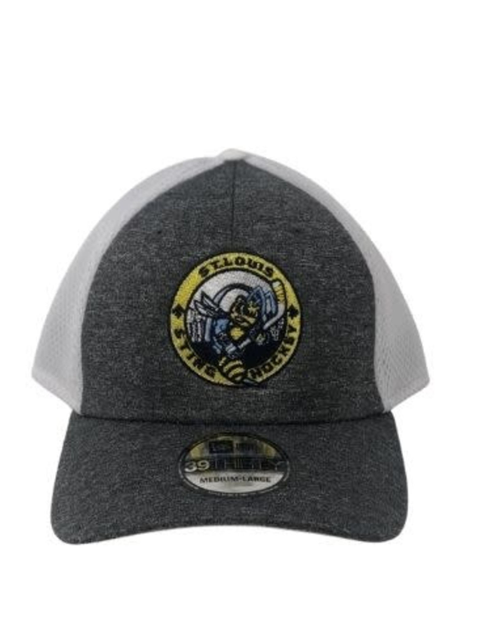 TGP Services Sting Flexfit Hat (Grey/White) Large-XLarge