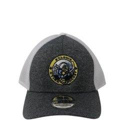 TGP Services Sting Flexfit Hat (Grey/White) Small/Medium