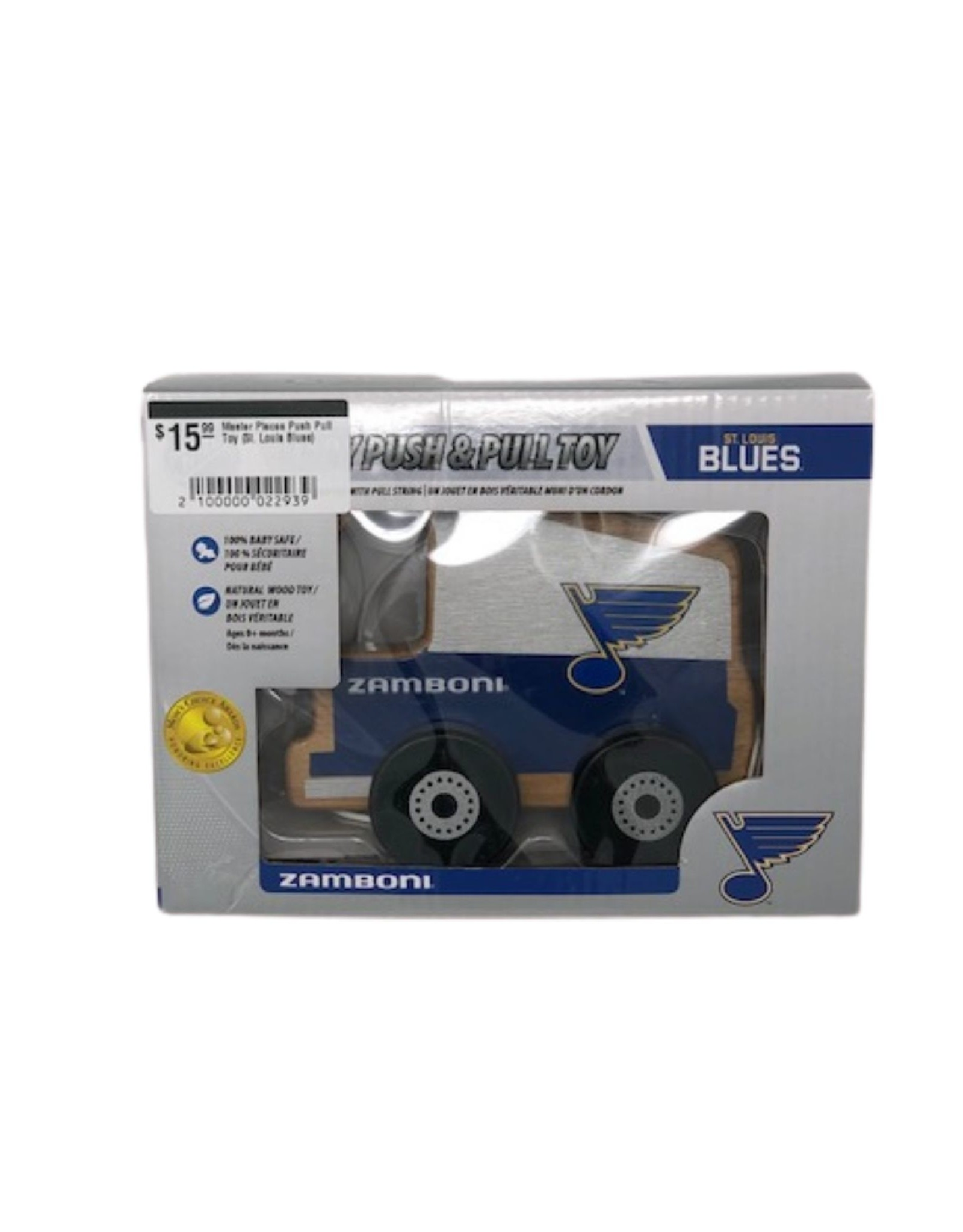 Master Pieces Master Pieces Push Pull Toy (St. Louis Blues)