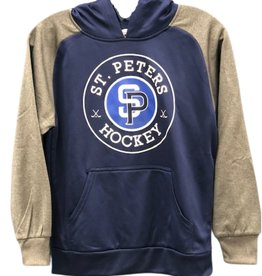 AK STP AK Navy/Grey Lace Up Hoody (YOUTH)