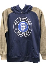 TGP Services STP AK Navy/Grey Lace Up Hoodie (ADULT)