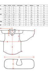 Pear Sox Pear Sox Reversible Jersey (Maroon/White)