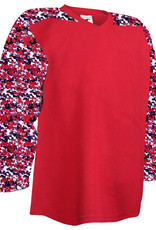 Pear Sox Pear Sox Air Mesh Practice Jersey (ADULT SCARLET CAMO)