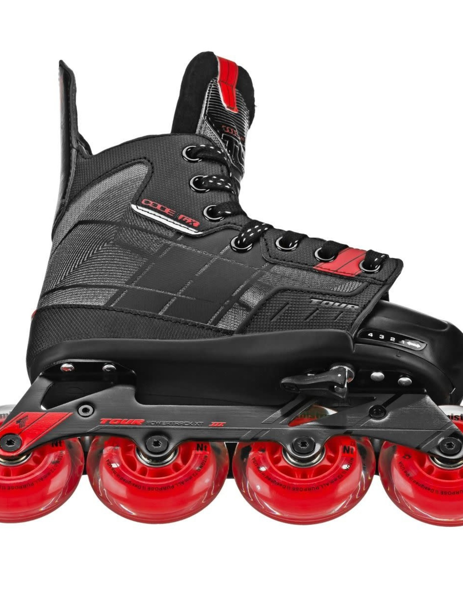 Tour Tour Code GX Youth Adjustable Inline Skate (11-1)