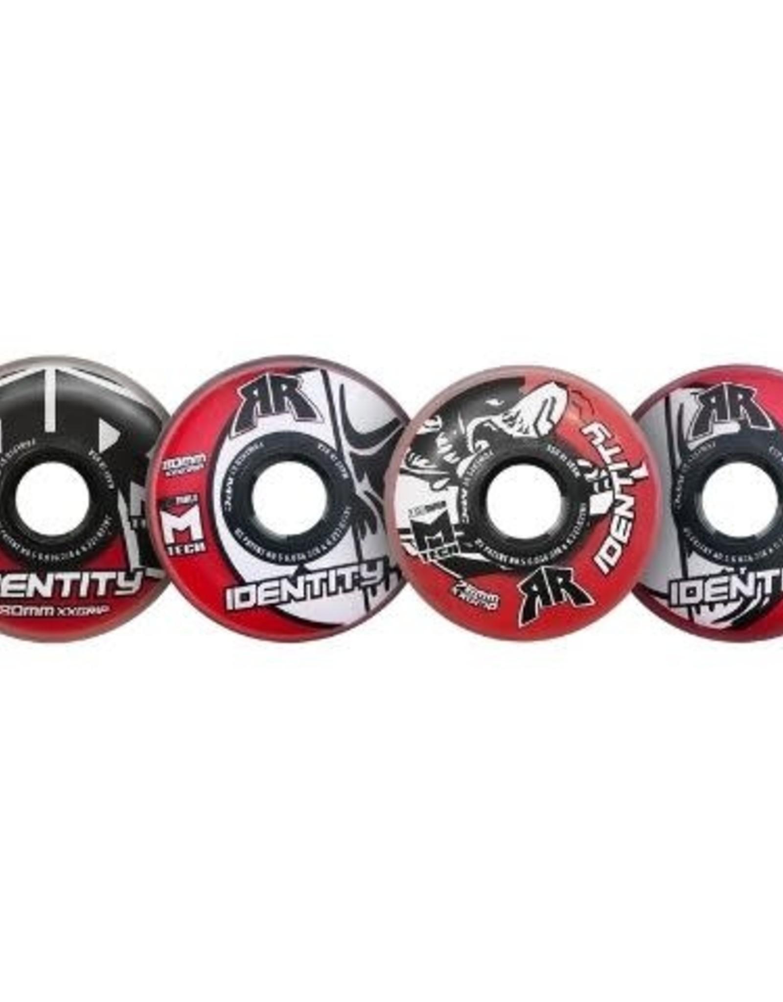 Rink Rat Rink Rat Identity 76mm Wheel (Red) XX