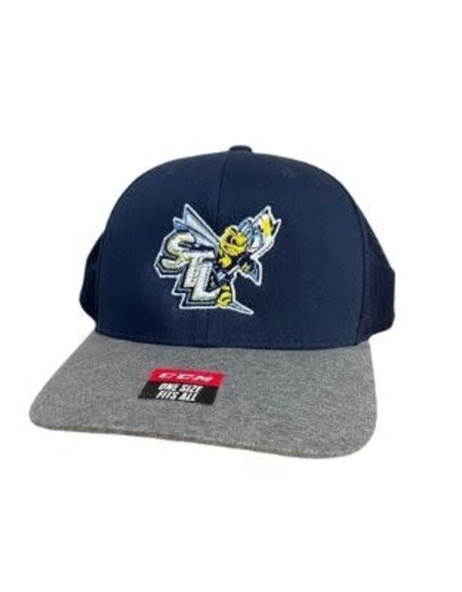 CCM STING CCM Navy/Grey Mesh Hat