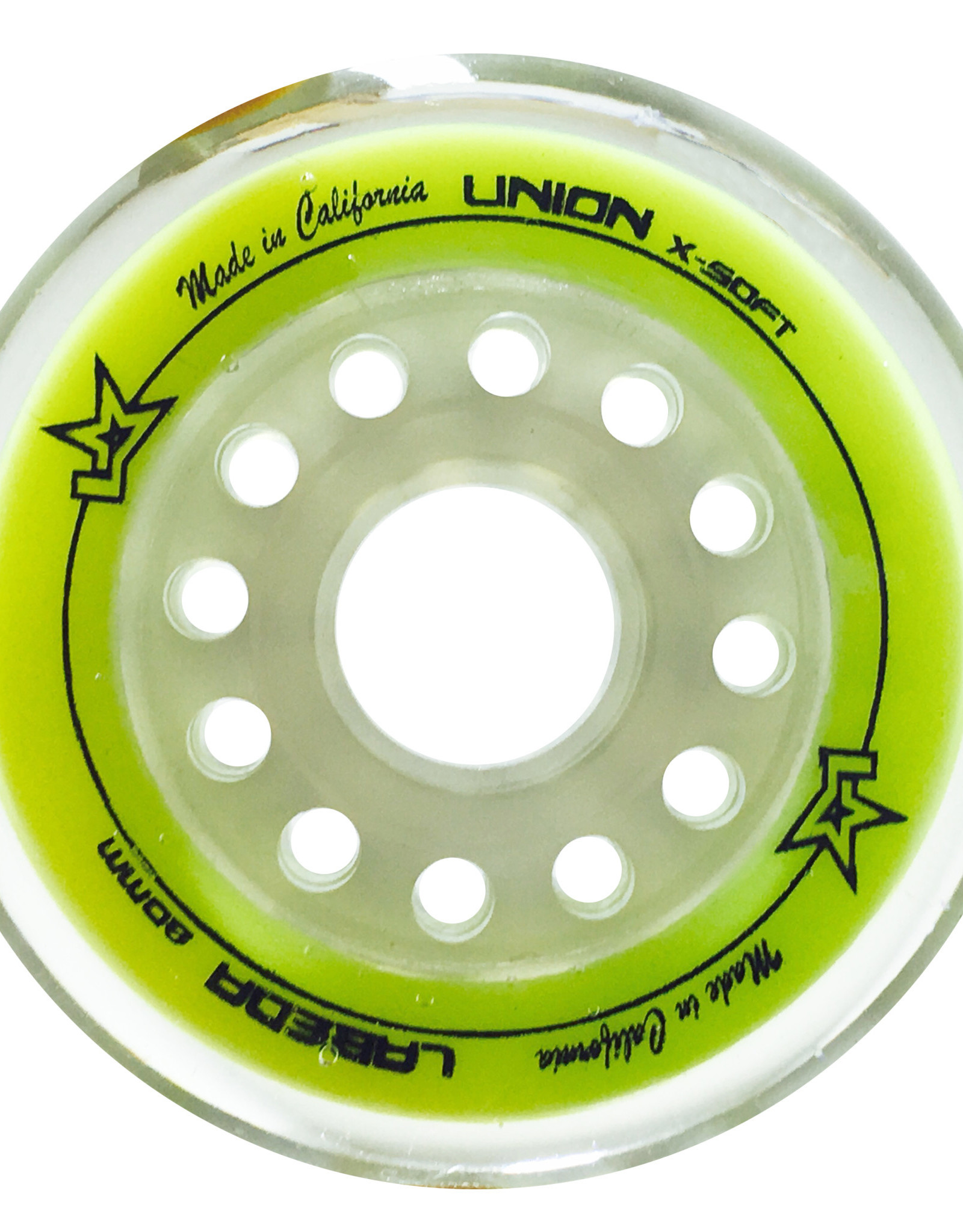 Labeda Labeda Union Inline Wheels (Yellow) X-Soft