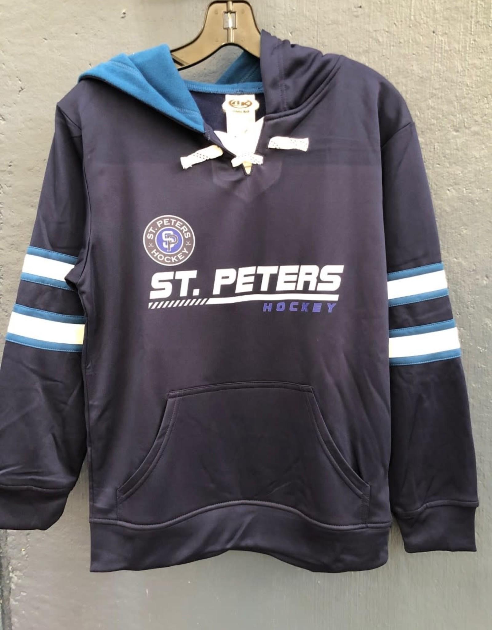 AK STP AK Elite Jersey Lace Up Hoodie (SENIOR)