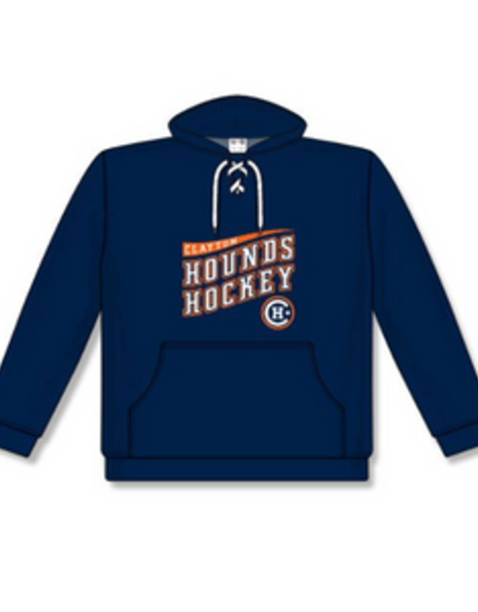 AK Clayton AK Navy Hounds Lace Up Hoodie (YOUTH)