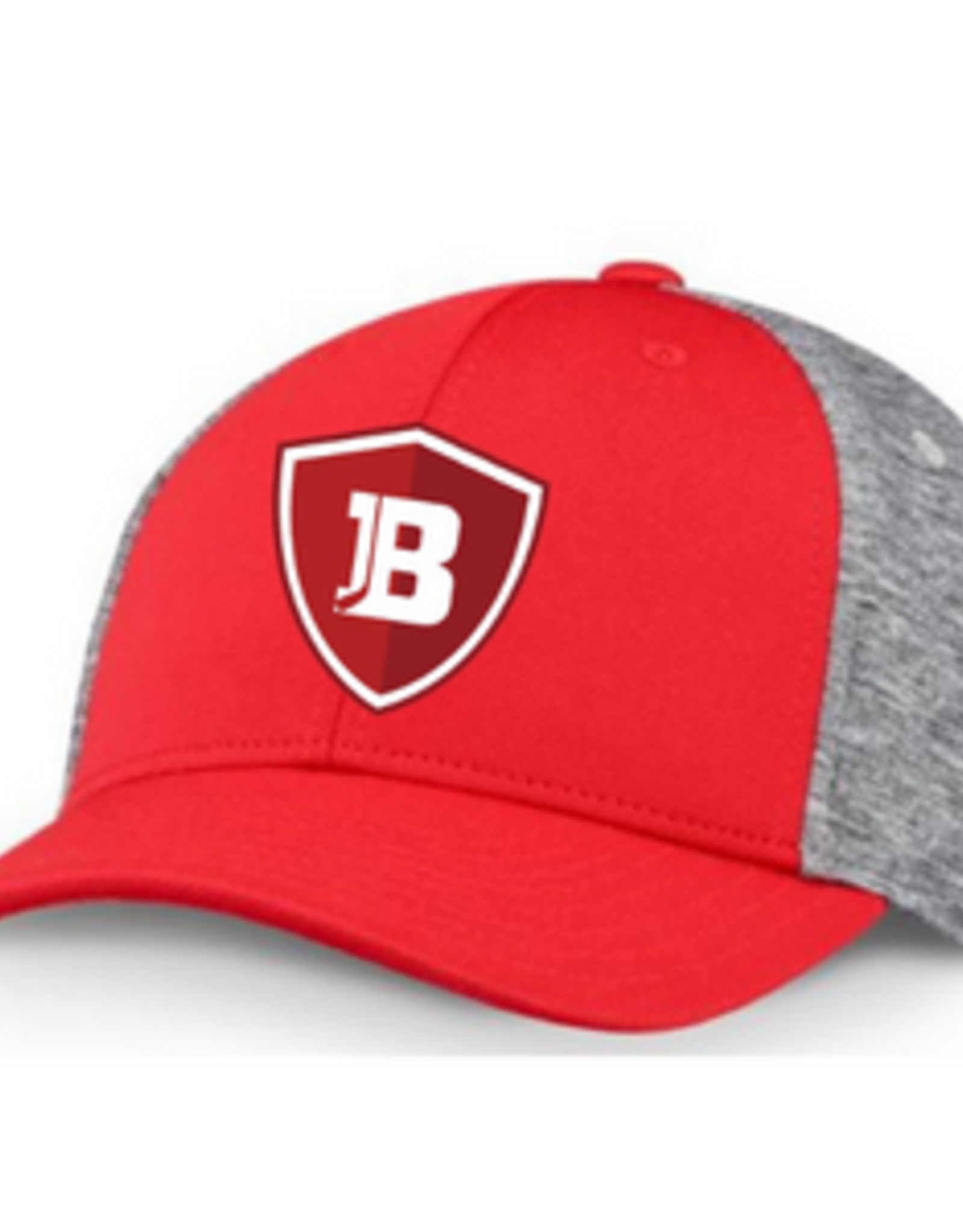 CCM Bradley CCM Red/Grey Fitted Hat (ADULT) S/M