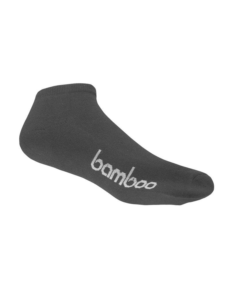 BAMBOO SOCK BAMBOO BLACK PED MENS 4-6 WOMENS 6-10