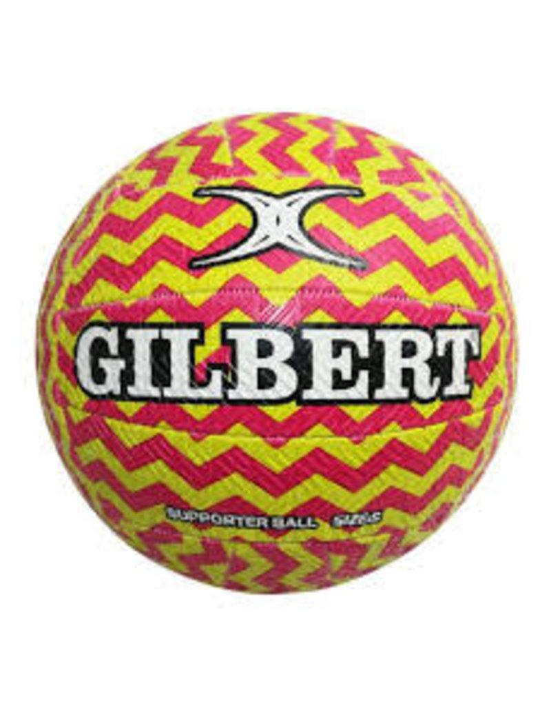 GILBERT NETBALL GILBERT GLAM ZIGZAG SIZE 5